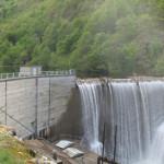Barrage de Riete en Ariège.