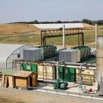 Unité de biogaz à Vigeant.