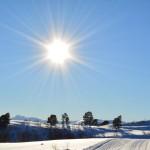 L'énergie du soleil.
