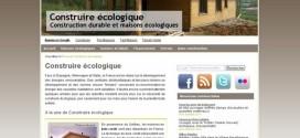 Construire écologique : guide de l'écoconstruction