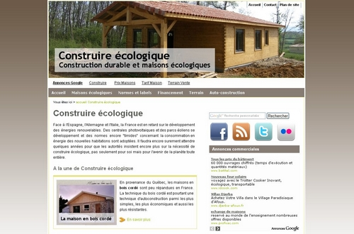 Guide de la construction écologique.