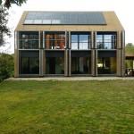 Maison passive en Allemagne.