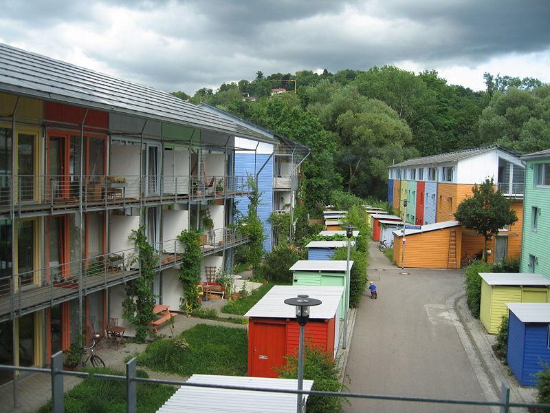 Ecoquartier Vauban à Fribourg